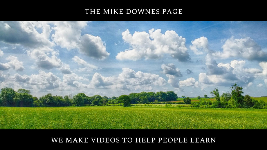 The Mike Downes Page