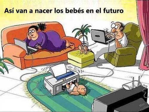Asi naceran los niños, en el futuro