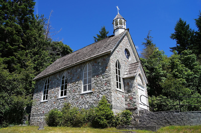 First Settlers To Vancouver Island Church