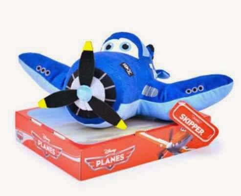 Peluche Planes Avión Skipper