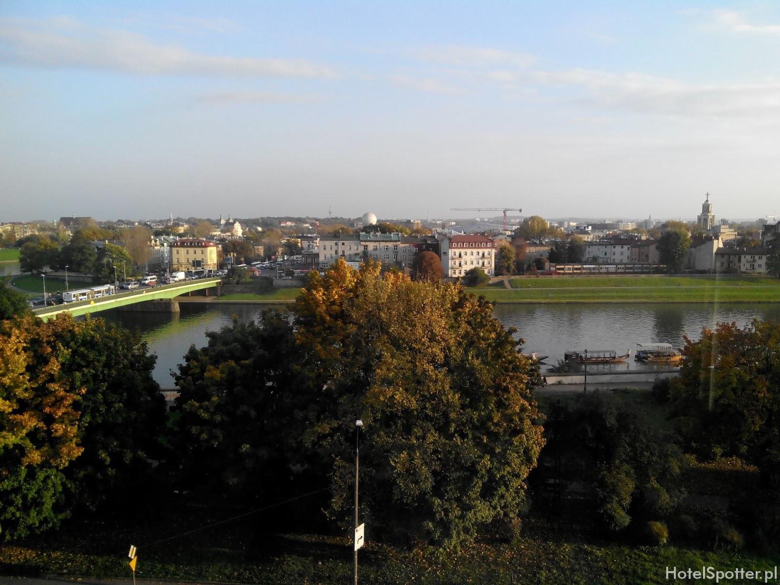 Novotel Krakow Centrum - widok z okna