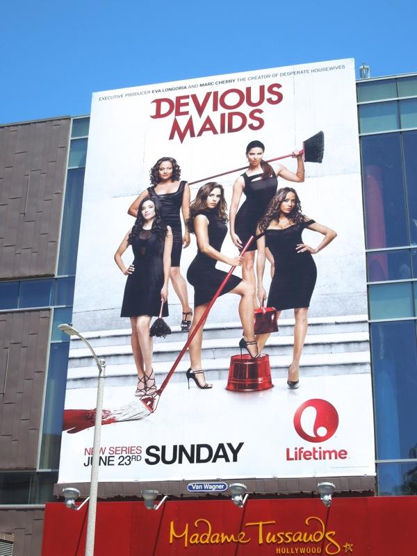Devious Maids Lifetime billboard