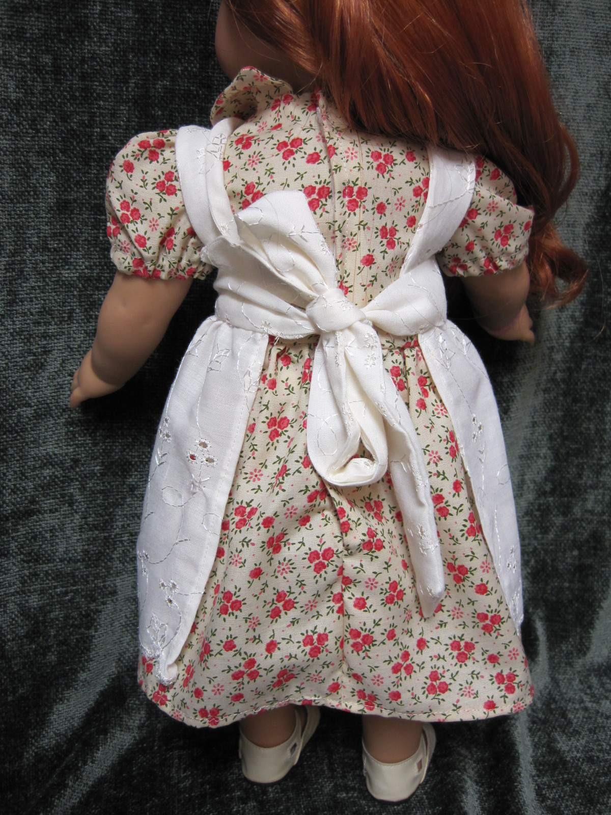 White pinafore apron ebay - Hailey Looks Absolutely Adorable In Her New Duds Above Is A Closer Pic Of The Apron Pinafore The Material Is Nice Quality And The Embroidered Detail