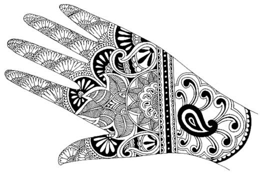 Easy Henna Designs Templates | makedes.com