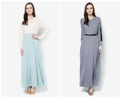 jubah, jubah moden, dress, shopping online, zalora