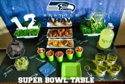 Seahawks Football Table