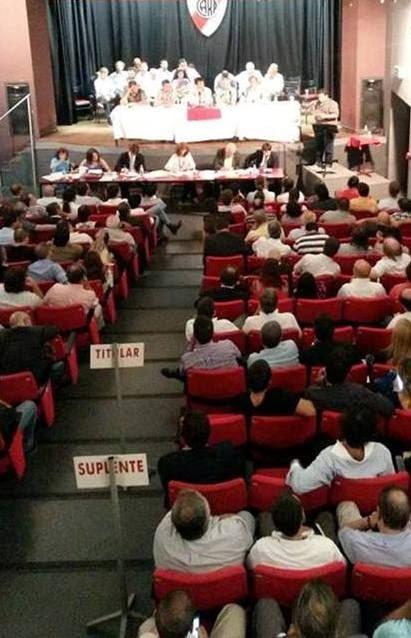 Asamblea de representantes de socios de River Plate, River, River Plate, Dario Santilli, D'Onofrio,