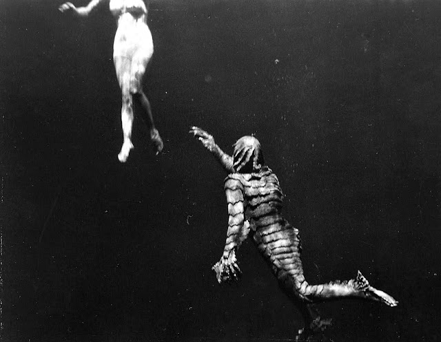 Creature from the Black Lagoon underwater shot