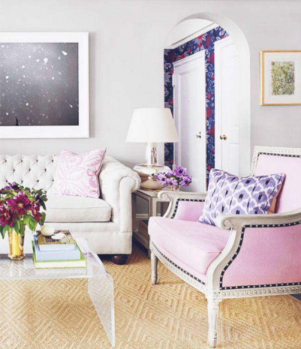 Rose Quartz na decoração
