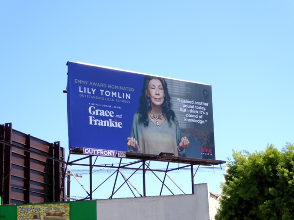 Grace and Frankie Emmy 2015 billboard