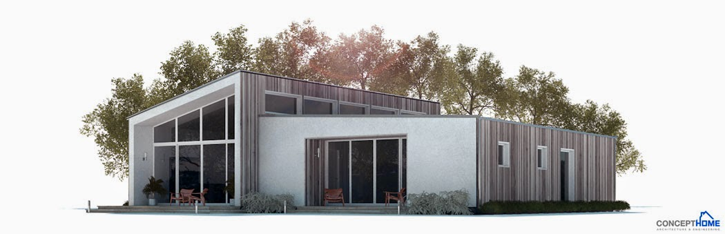 affordable home plans affordable modern home plan ch281