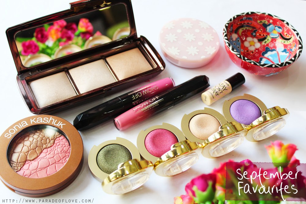 September 2014 Beauty Favourites