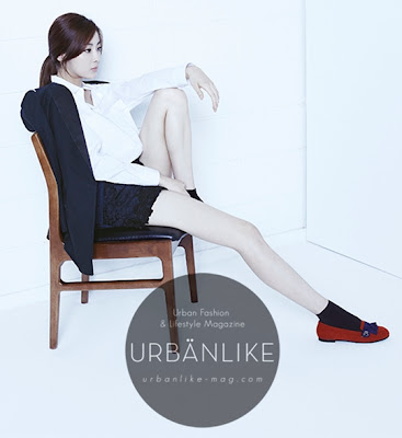 Kang Sora - Urban Like Magazine August Issue 2013