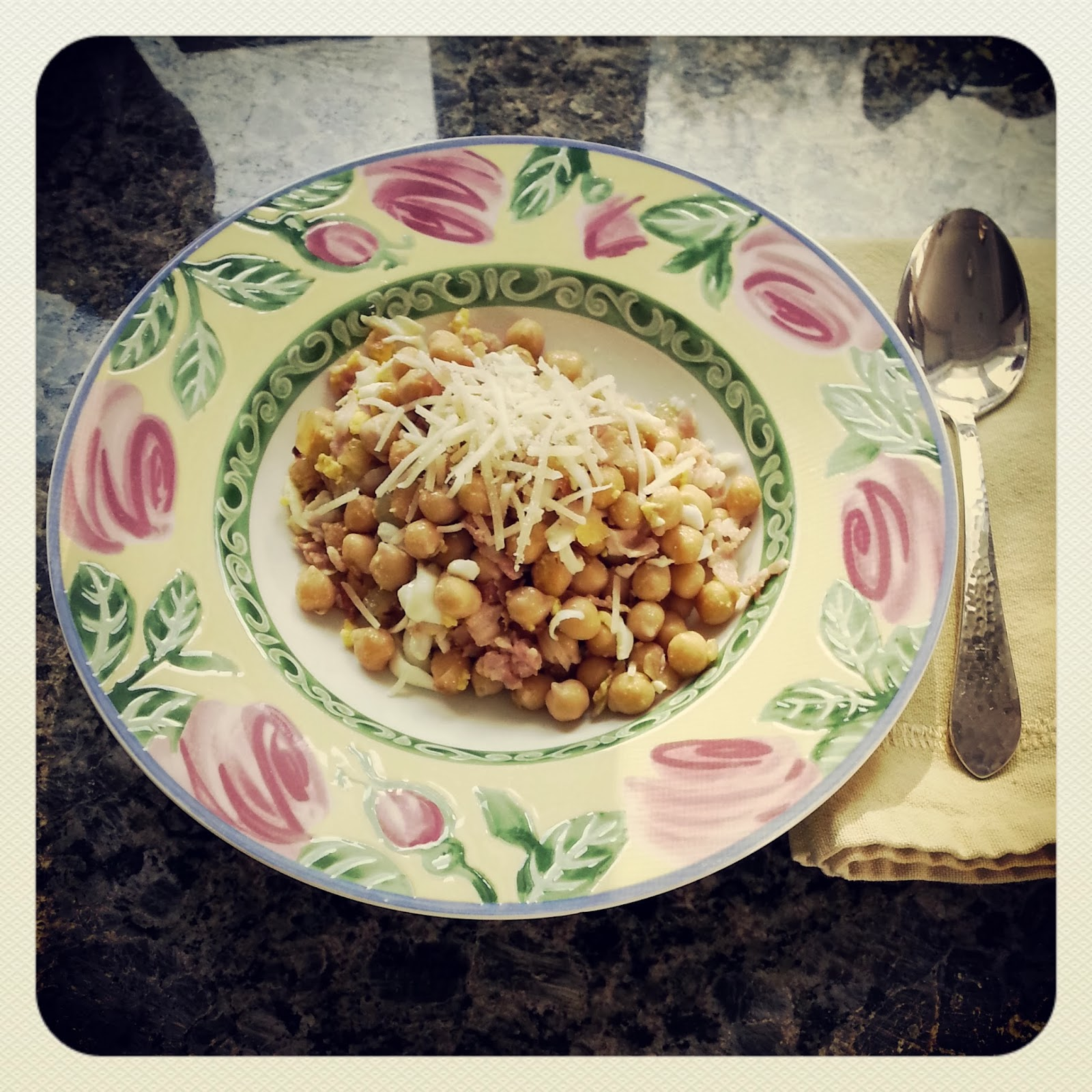 receta au pair garbanzos