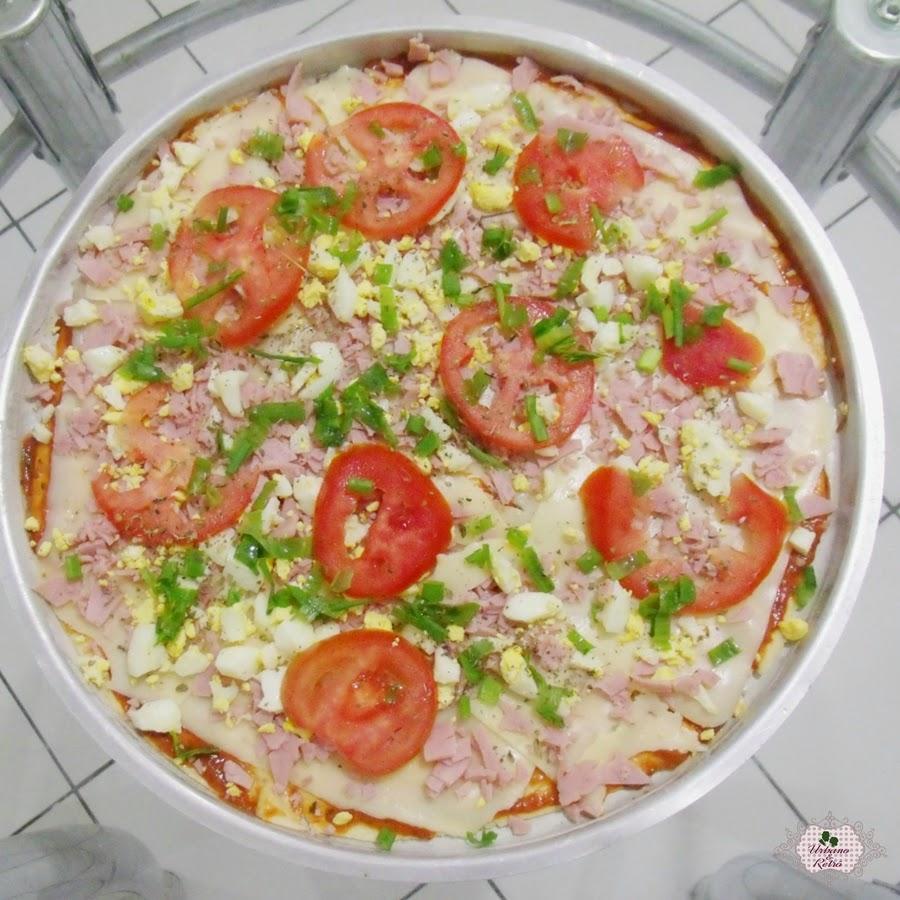 pizza caseira facil