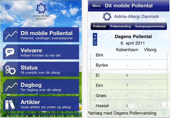 dagens pollental københavn