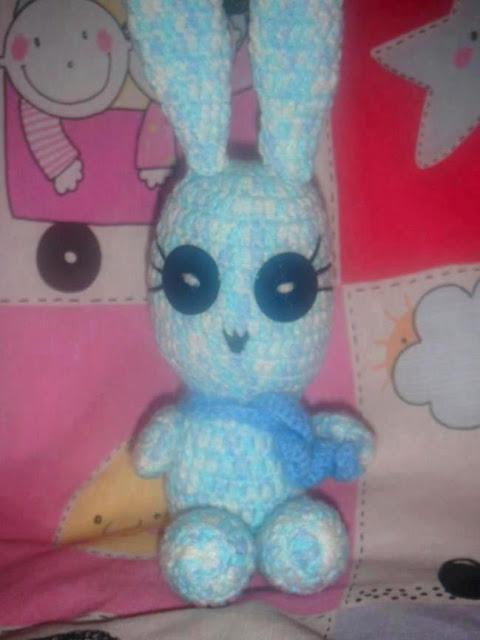 amigurumi, ganchillo, crochet, conejo, conejito