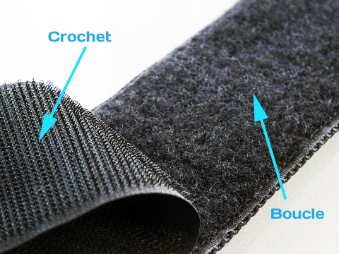 velcro scratch auto agrippant boucle vs crochet le. Black Bedroom Furniture Sets. Home Design Ideas