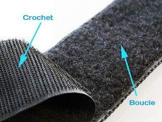 boule/crochet velcro