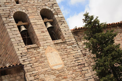 Bell tower of the Castellar de N'Hug church