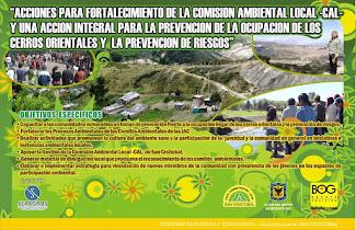FORTALECIMIENTO COMISIÓN AMBIENTAL LOCAL SAN CRISTOBAL