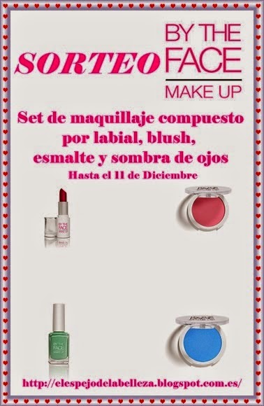 sorteo by the face make up