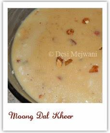 Moong Dal Kheer