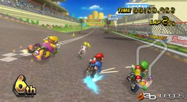 Mario Kart PC Full Version Wii Convertido Español DVD5