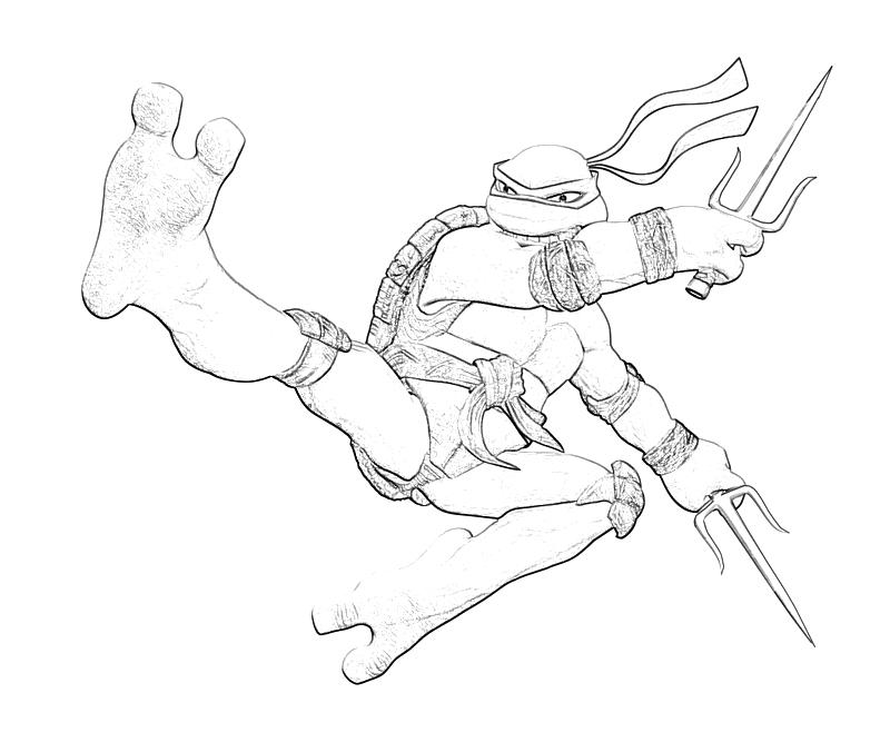 Ninja turtles raphael coloring pages for Raphael ninja turtle coloring pages