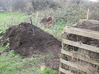 St Ives Allotment - Compost Heap