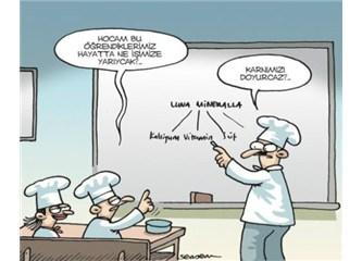 aşçı karikaür okul karikatürleri