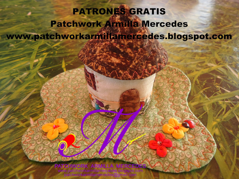 Patchwork armilla mercedes s l patrones gratis - Patchwork en casa patrones gratis ...
