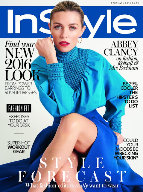 Fashion Model, @ Abbey Clancy for InStyle UK, February 2016