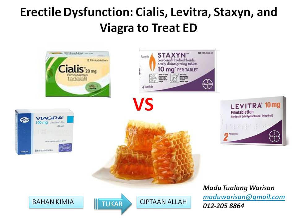 What is the difference between viagra and levitra