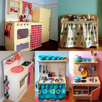 Con pekes como en casa cocinita hecha en casa for Cocinitas de juguete segunda mano