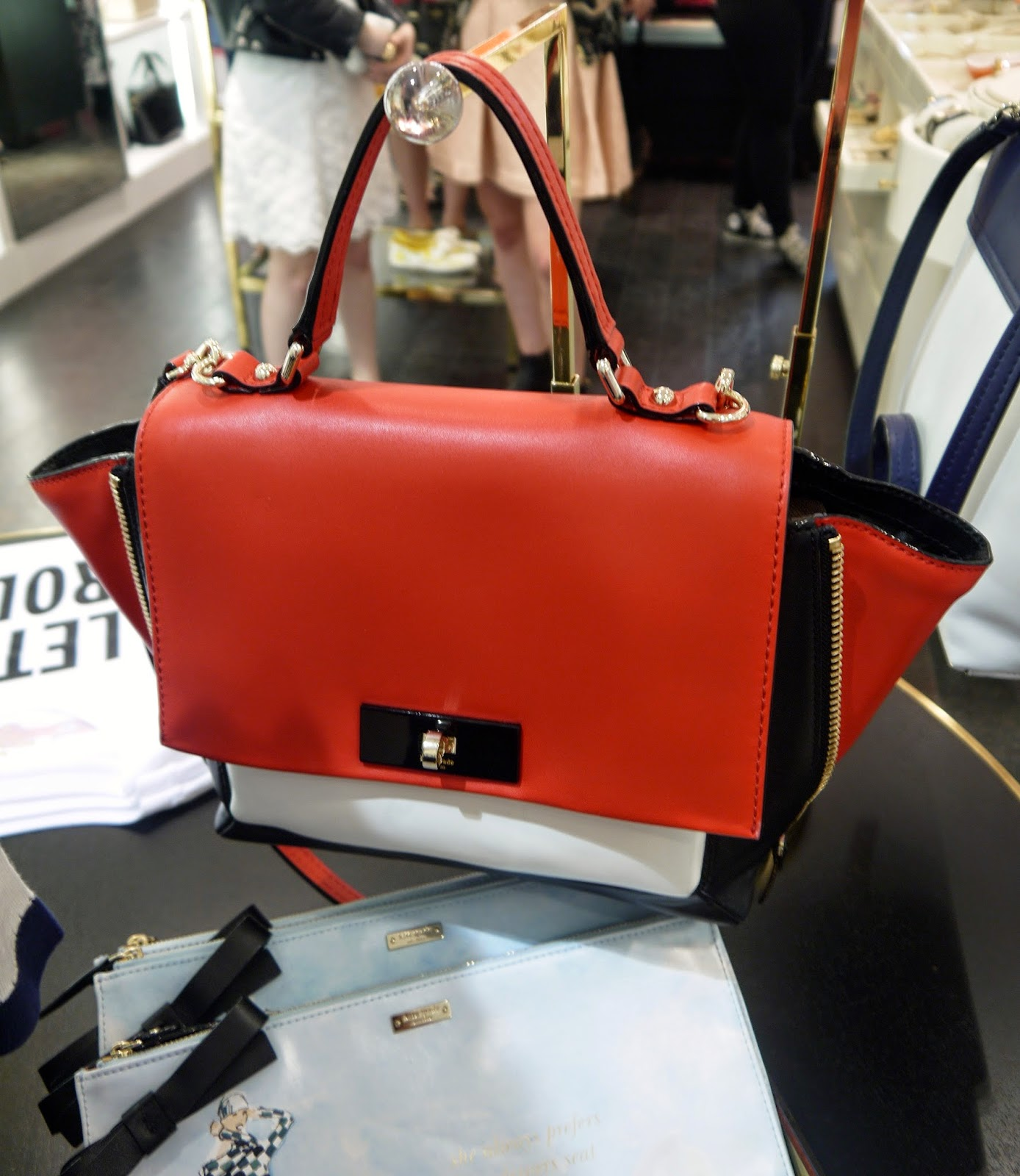 The Gorgeous Cross Body Abbie Bag from Kate Spade