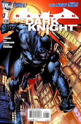Batman: The Dark Knight Issue #1 Cover Artwork