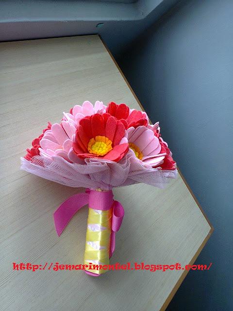 kemasana pemegang bunga tangan