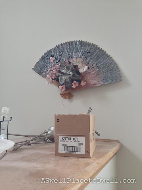 Lovely Fan on the wall