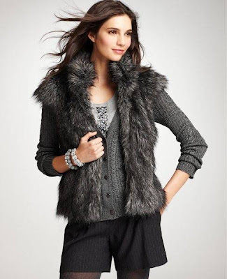 Luxuriate in Fur (faux) this Fall!