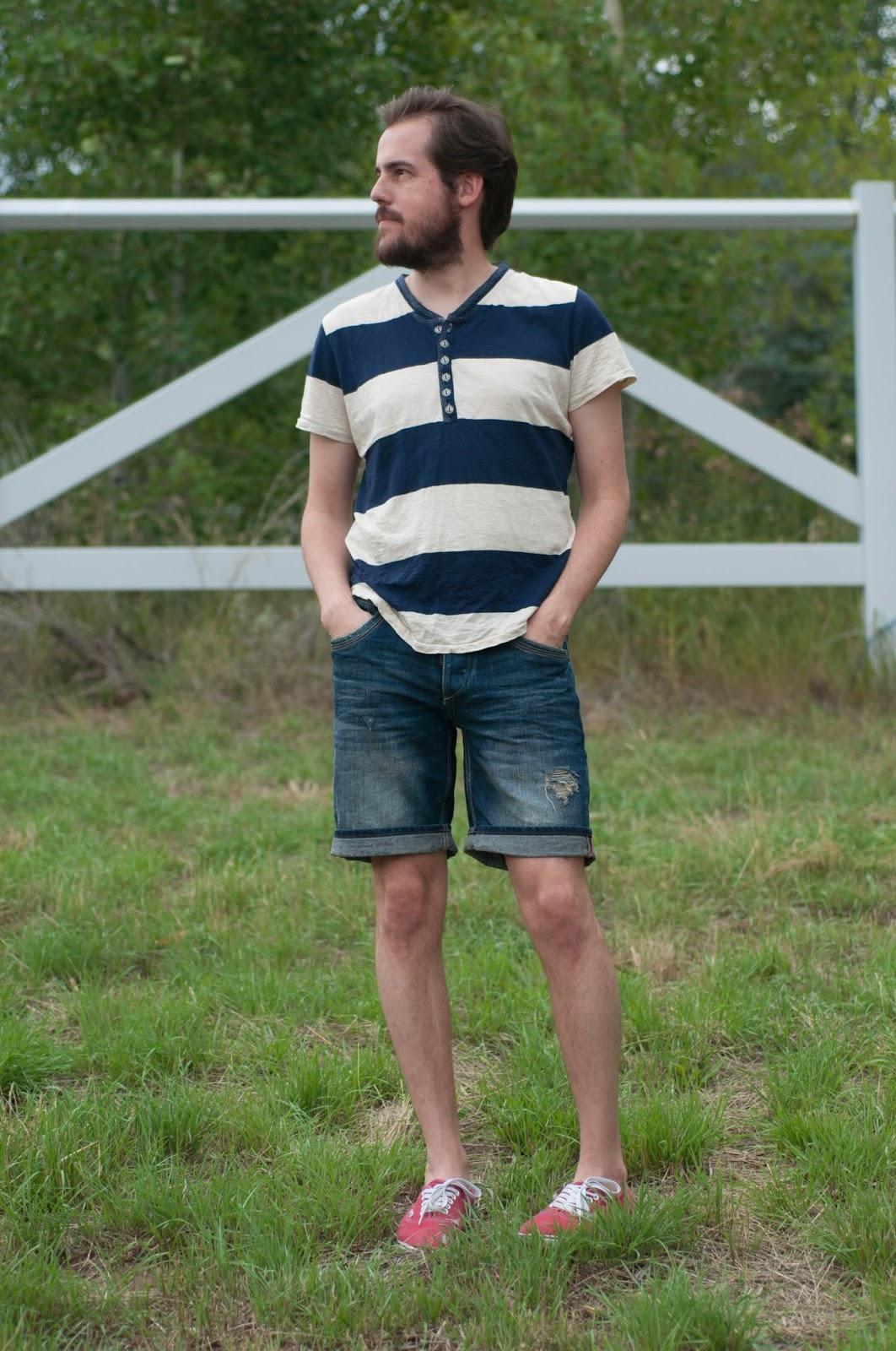 mens fashion, mens style, mens ootd, ootd, threads for thought tshirt, zara bermuda shorts, zara man