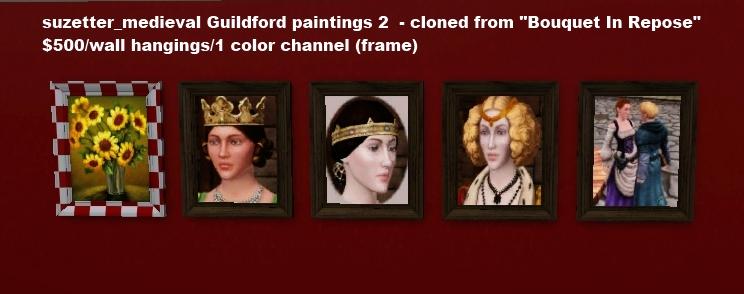Medieval Sim Art. Labels: Residential Lots