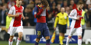 Video Gol Ajax vs Barcelona 27 November 2013