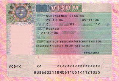 какие документы необходимы для открытия визы в Грецию