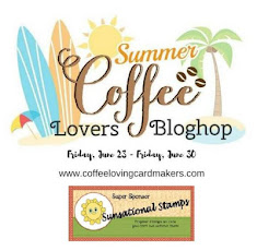 Coffee Lovers' Blog Hop With Sunsational Stamps