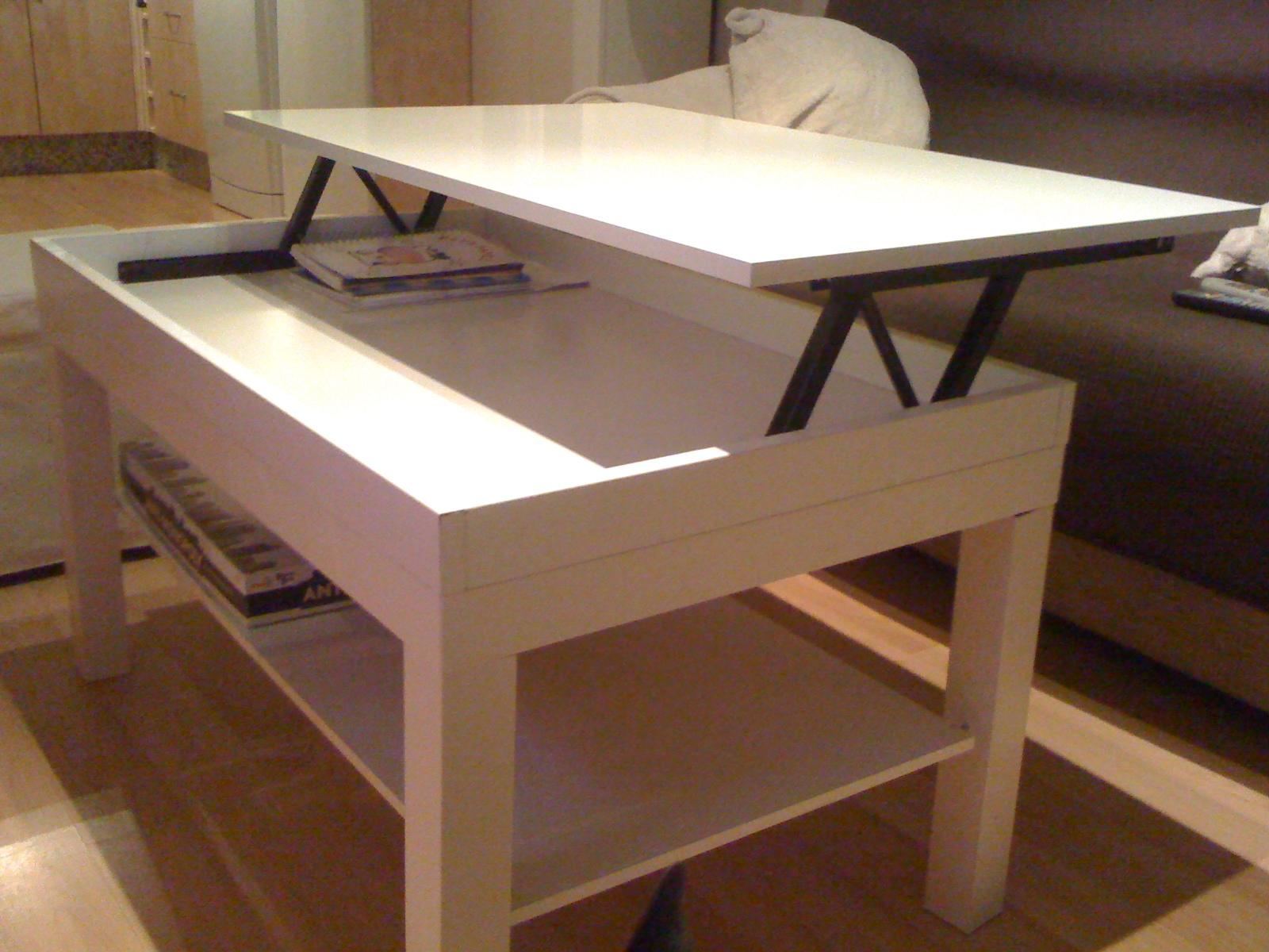 Decoraci n consejos y trucos c mo hacer una mesa elevable for Mesa de ninos ikea