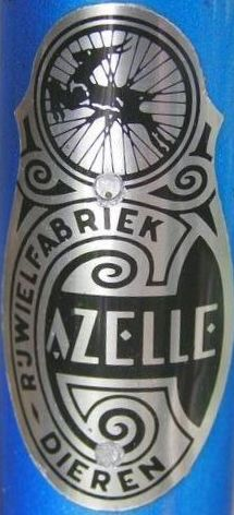 """Details about  /Bicycle Bell GAZELLE LOGO 1/"""" For Gazelle Vintage Bicycle"""