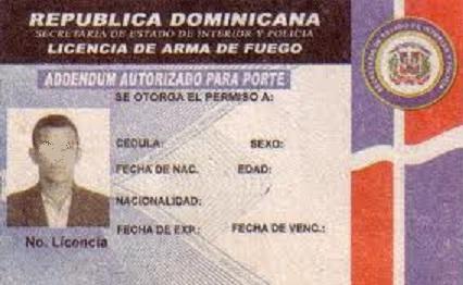 Empresarios comerciantes y profesionales denuncian for Porte y tenencia de armas de fuego en republica dominicana