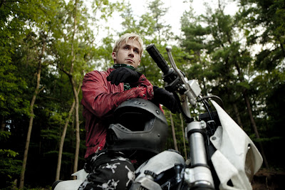 Ryan Gosling hamming it up in THE PLACE BEYOND THE PINES