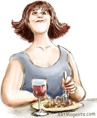 Yo-yo dieting is a cartoon by artist and illustrator Artmagenta